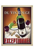 Du Vin Rouge Exceptionnel Fine Art Print