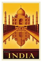 "Exotic India by Steve Forney - 13"" x 19"""