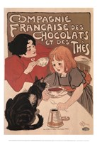 """Compagnie Francaise des Chocolats by Theophile-Alexandre Steinlen - 13"""" x 19"""""""