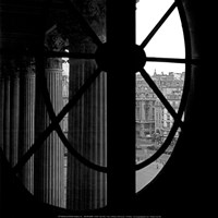From a Window of the Louvre Fine Art Print