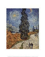 Country Road in Provence by Night, c. 1890 Fine Art Print