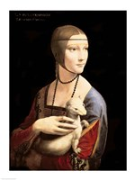 The Lady with the Ermine Framed Print