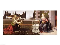 Annunciation, 1472-75 Fine Art Print