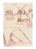 Designs for a Catapult Fine Art Print