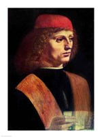 Portrait of a Musician, c.1485 Fine Art Print
