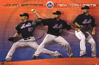 "Mets - J Santana 11 - 34"" x 22"""