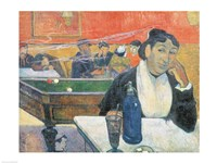 Cafe at Arles, 1888 by Paul Gauguin, 1888 - various sizes, FulcrumGallery.com brand