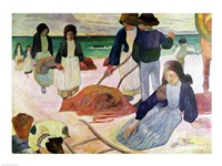 Seaweed Gatherers, 1889 by Paul Gauguin, 1889 - various sizes