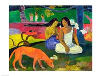 Arearea (The Red Dog), 1892 by Paul Gauguin, 1892 - various sizes