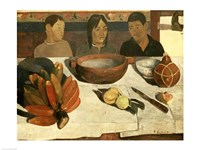 The Meal (The Bananas), 1891 by Paul Gauguin, 1891 - various sizes