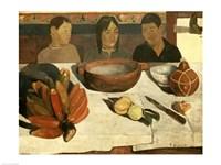 The Meal (The Bananas), 1891 Fine Art Print