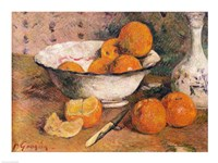 Still life with Oranges, 1881 Fine Art Print