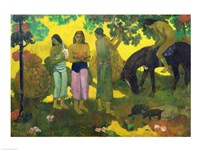 Rupe Rupe (Fruit Gathering), 1899 Fine Art Print
