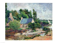 Washerwomen at Pont-Aven, 1886 Fine Art Print