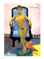 Annah the Javanese by Paul Gauguin - various sizes
