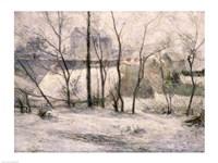 Winter Landscape, 1879 Fine Art Print