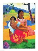 Nafea Faaipoipo Fine Art Print