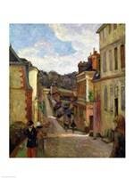 A Suburban Street, 1884 Fine Art Print