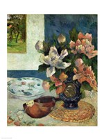Still Life with a Mandolin, 1885 Fine Art Print