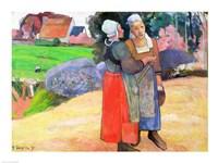 Breton Peasants, 1894 Fine Art Print