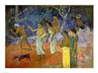 Scene from Tahitian Life, 1896 by Paul Gauguin, 1896 - various sizes - $16.49
