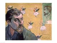 Self Portrait, Les Miserables,1888 Fine Art Print