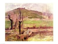 Landscape near Pont-Aven, 1888 Fine Art Print