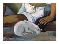 Eiaha Ohipa, detail by Paul Gauguin - various sizes, FulcrumGallery.com brand