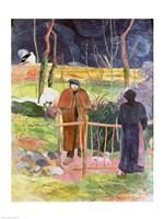 Bonjour, Monsieur Gauguin, 1889 Fine Art Print