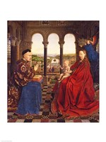 The Rolin Madonna by Jan Van Eyck - various sizes - $16.49