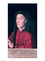 Portrait of a Young Man, 1432 Fine Art Print