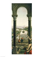 The Rolin Madonna - Center by Jan Van Eyck - various sizes - $16.49