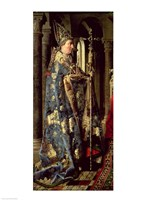 The Arnolfini Marriage (vertical detail) Fine Art Print