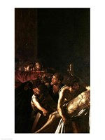 Resurrection of Lazarus, Right Detail Fine Art Print