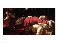 The Death of the Virgin, 1605-06 Fine Art Print