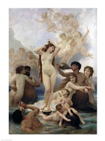 The Birth of Venus, 1879 Fine Art Print