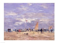 The Jetty at Deauville, 186 Fine Art Print