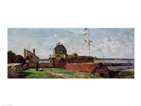 The Francois Ier Tower at le Havre, 1852 ( Fine Art Print