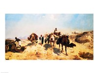 Crossing the Desert Fine Art Print