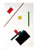 Suprematist Composition, 1915 (detail 2) Fine Art Print