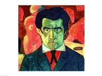 Self Portrait, 1908 by Kazimir Malevich, 1908 - various sizes