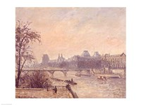 The Seine and the Louvre, 1903 by Camille Pissarro, 1903 - various sizes