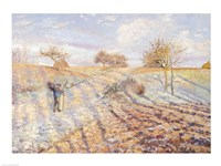 White Frost, 1873 by Camille Pissarro, 1873 - various sizes