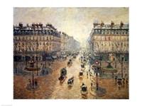 Avenue de L'Opera, Paris, 1898 by Camille Pissarro, 1898 - various sizes - $16.49