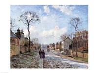 The Road to Louveciennes, 1872 by Camille Pissarro, 1872 - various sizes