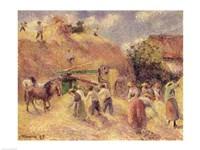The Harvest, 1883 Fine Art Print