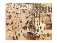 Place du Theatre Francais, 1898 Fine Art Print