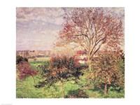 Autumn morning at Eragny, 1897 Fine Art Print
