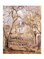 The Vegetable Garden, 1878 by Camille Pissarro, 1878 - various sizes