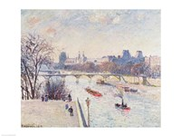 The Louvre, 1902 by Camille Pissarro, 1902 - various sizes